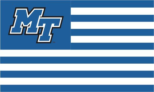 MT Logo Stripe Style 3x5 Flag