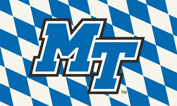 MT Logo Checkerboard 3x5 Flag