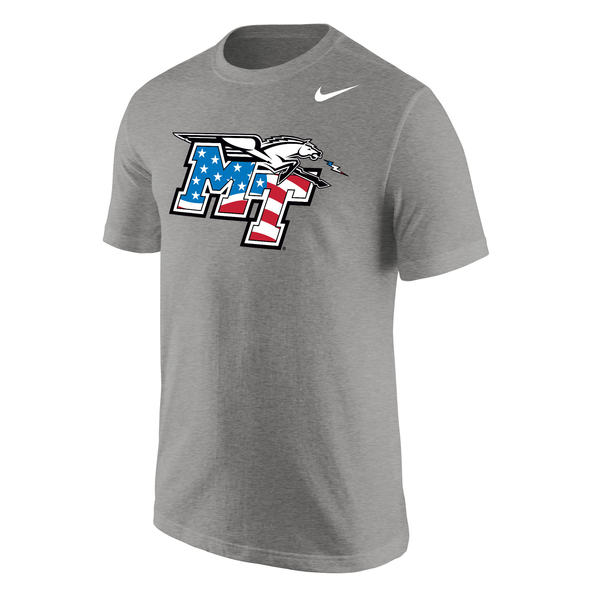 MT Logo w/ Lightning Patriotic Nike® Core Shirt