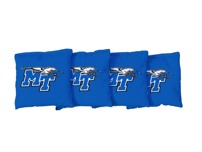 MT Logo w/ Lightning Regulation Corn Filled Cornhole Bags