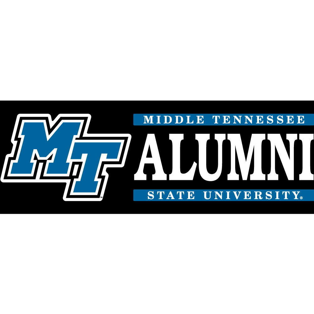 MT Logo Bar Alumni Decal