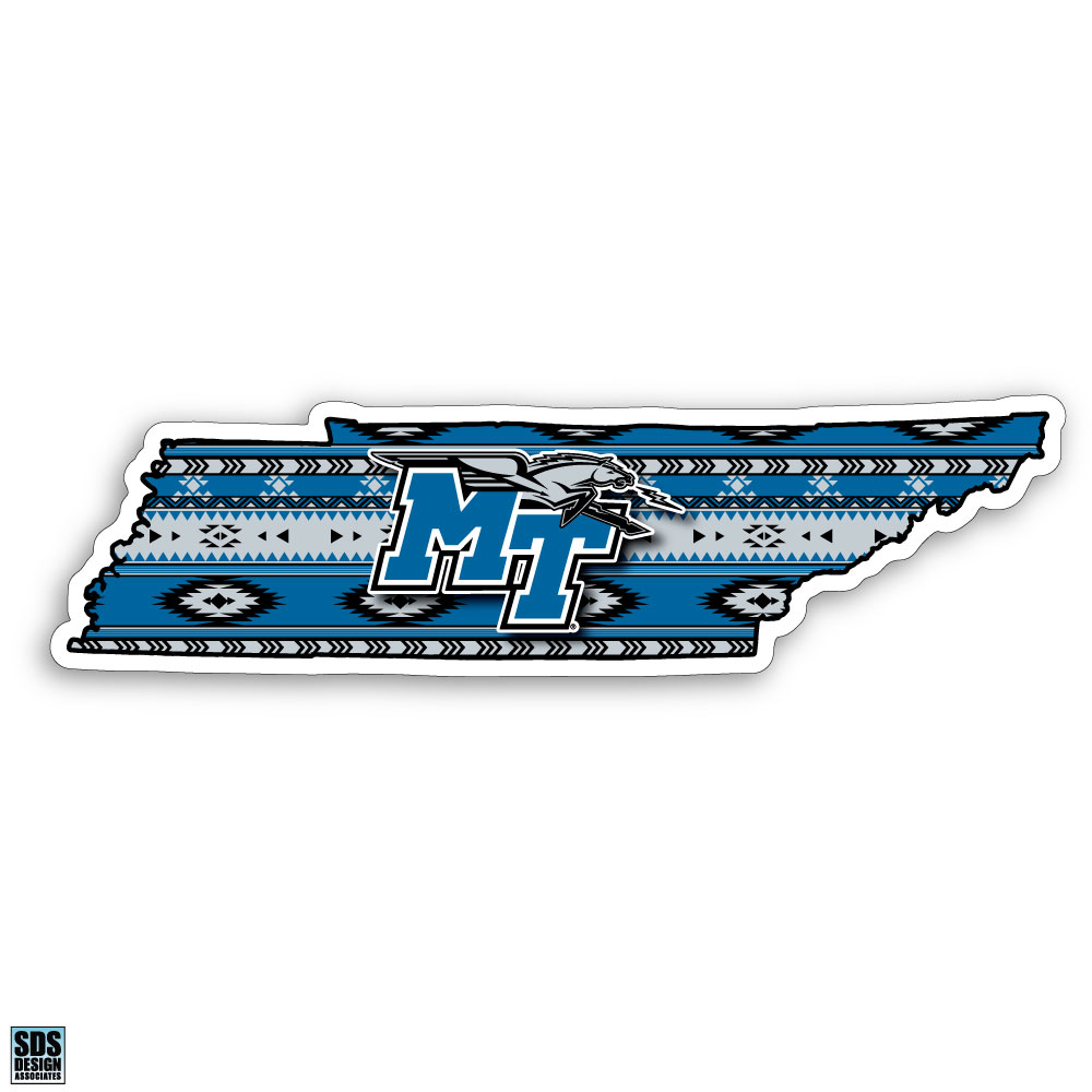 "MT Logo w/ Lightning 6"" Tribal State Decal"