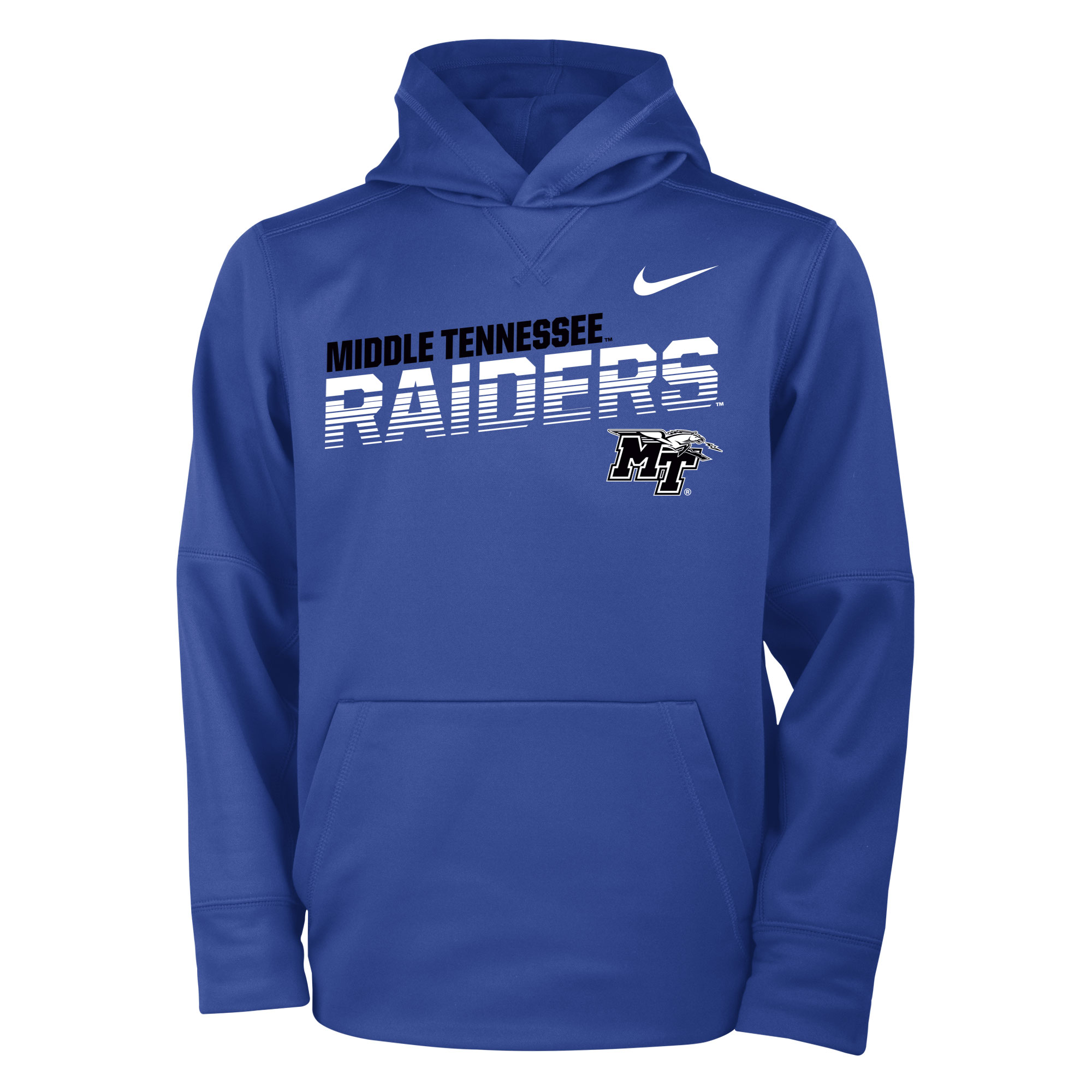 Youth Middle Tennessee Raiders Sideline Therma Hoodie