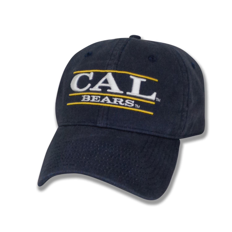 Cal Bears Garment Wash Twill Cap Bar Logo