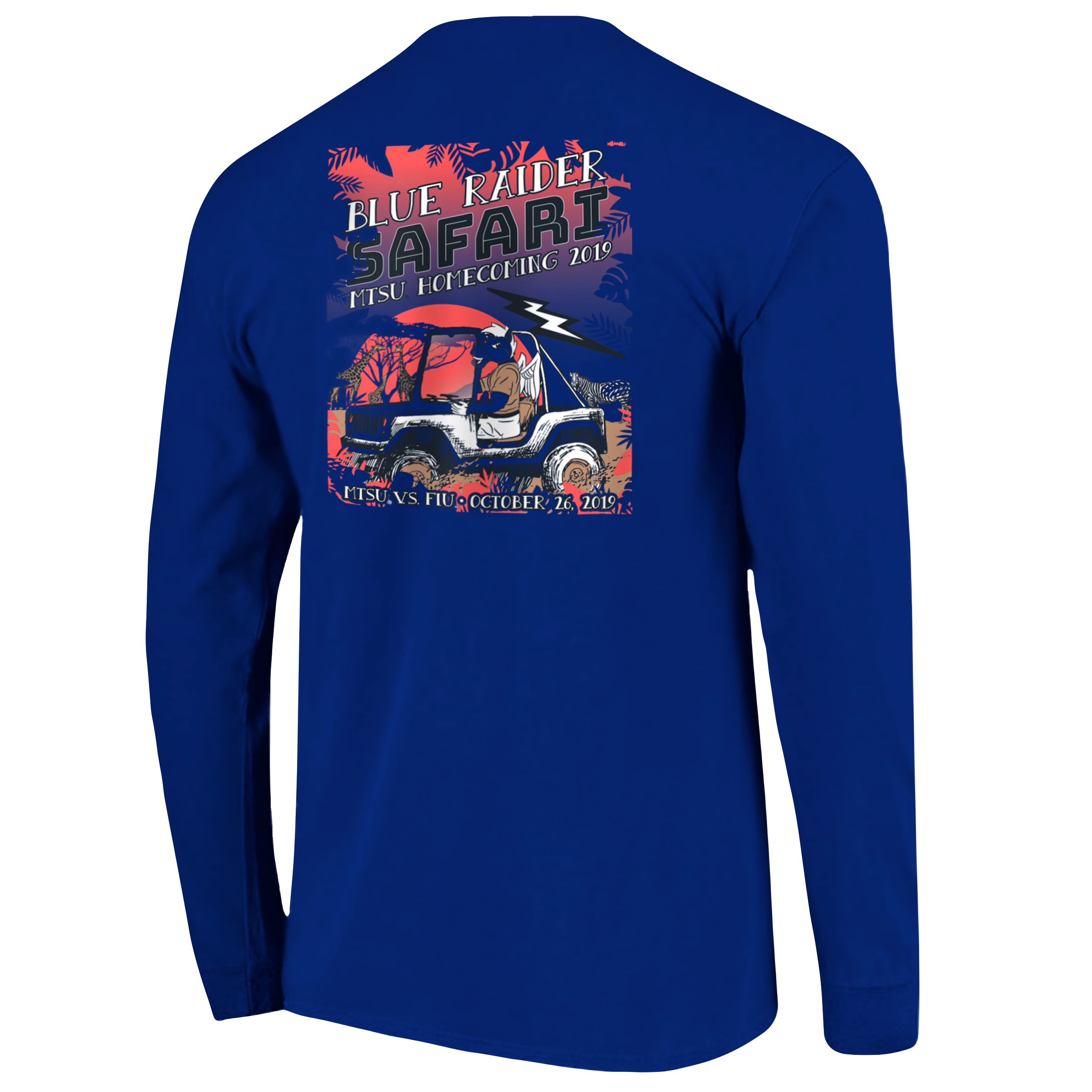 MTSU 2019 Homecoming Long Sleeve Shirt