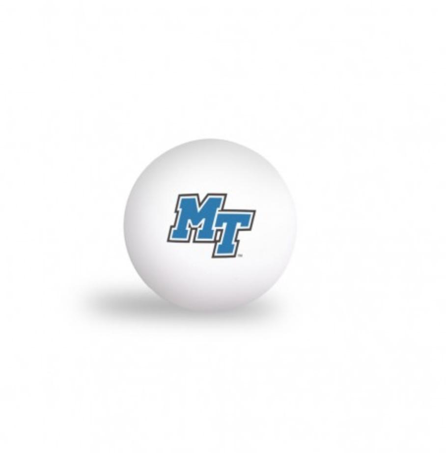 MT Logo Ping Pong Balls - 6 Pack