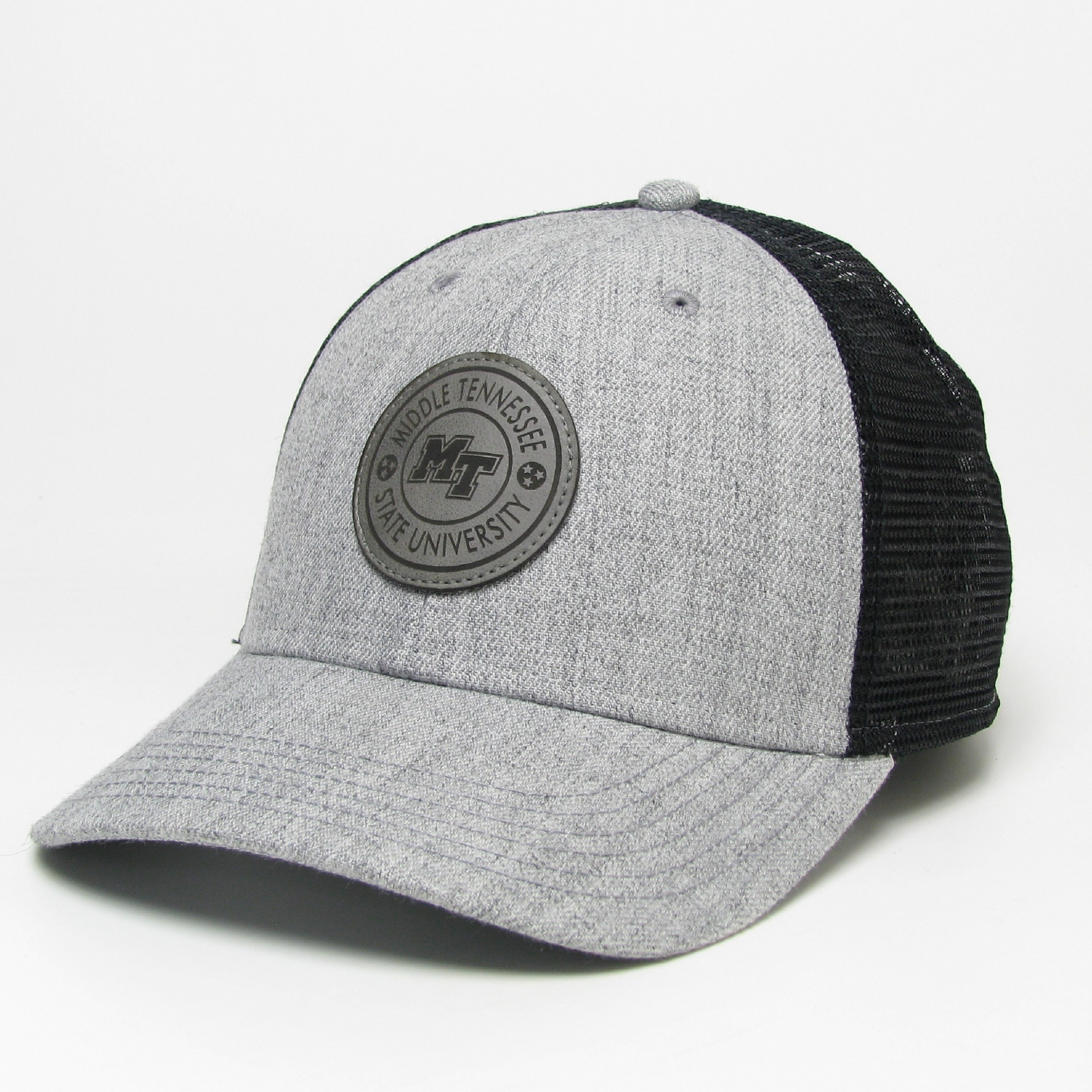 Middle Tennessee Leather Patch Lo-Profile Snapback
