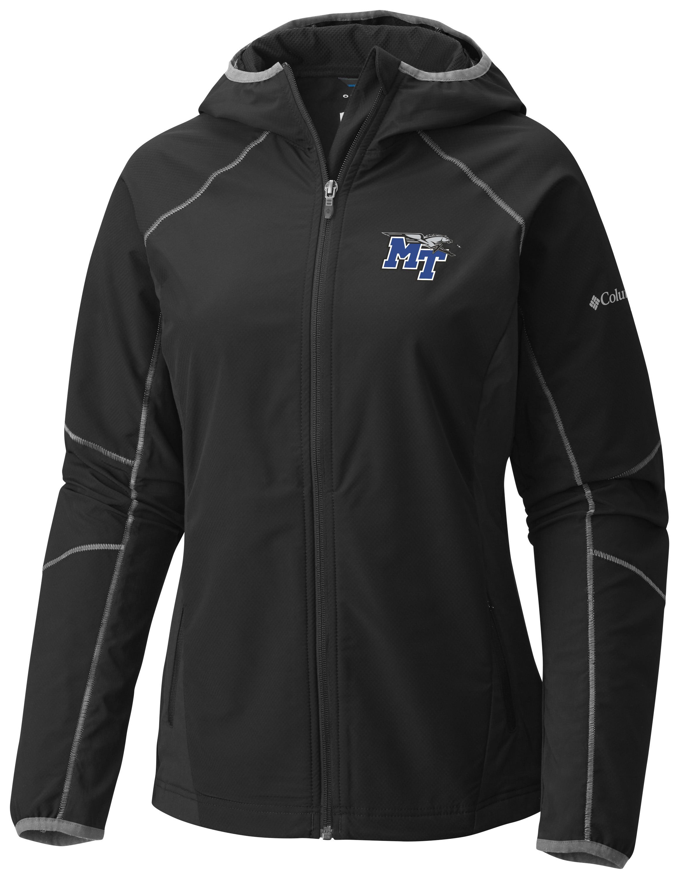 MT Logo w/ Lightning Sweet as Softshell Women's Hooded Jacket