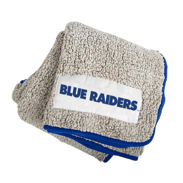 Blue Raiders Frosty Fleece Blanket