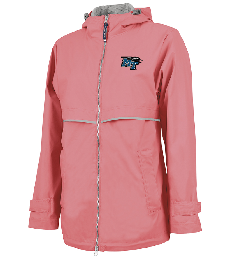 MT Logo w/ Lightning New Englander Women's Rain Jacket