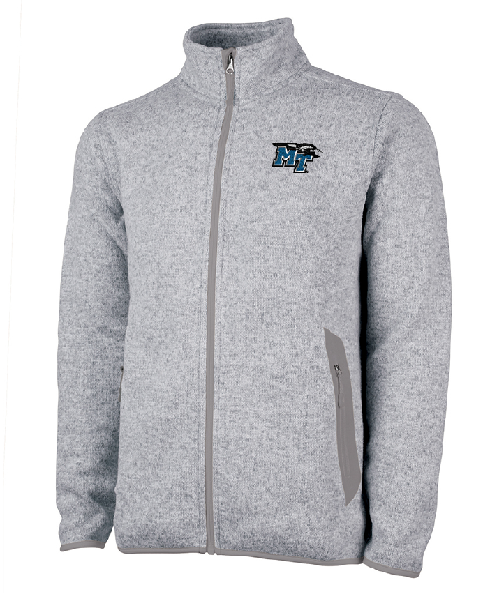 MT Logo w/ Lightning Heathered Fleece Jacket