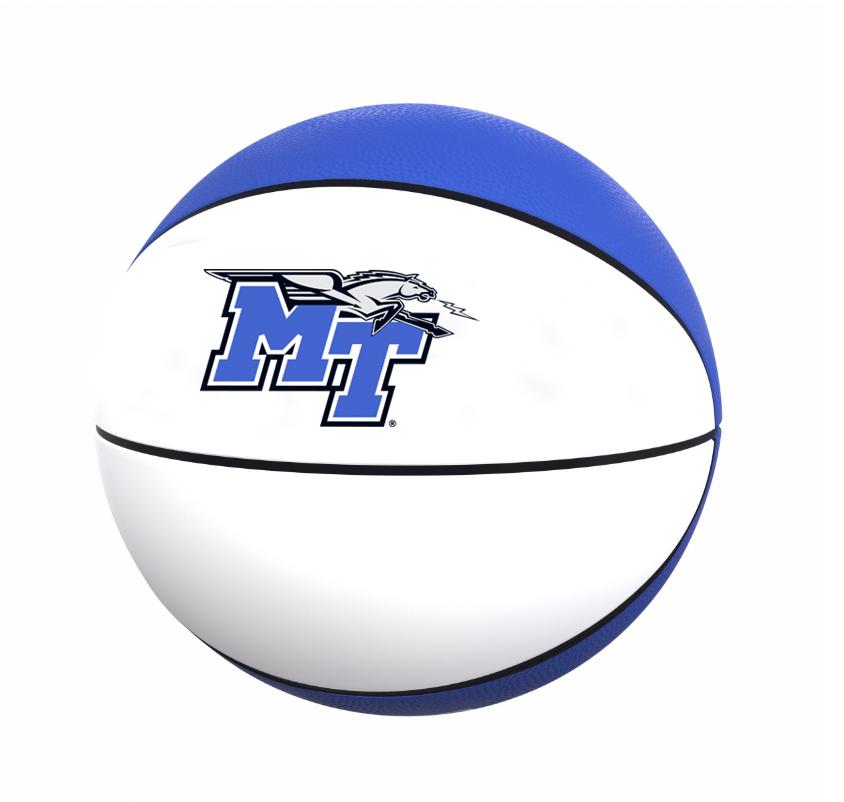 MT Logo w/ Lightning Autograph Basketball