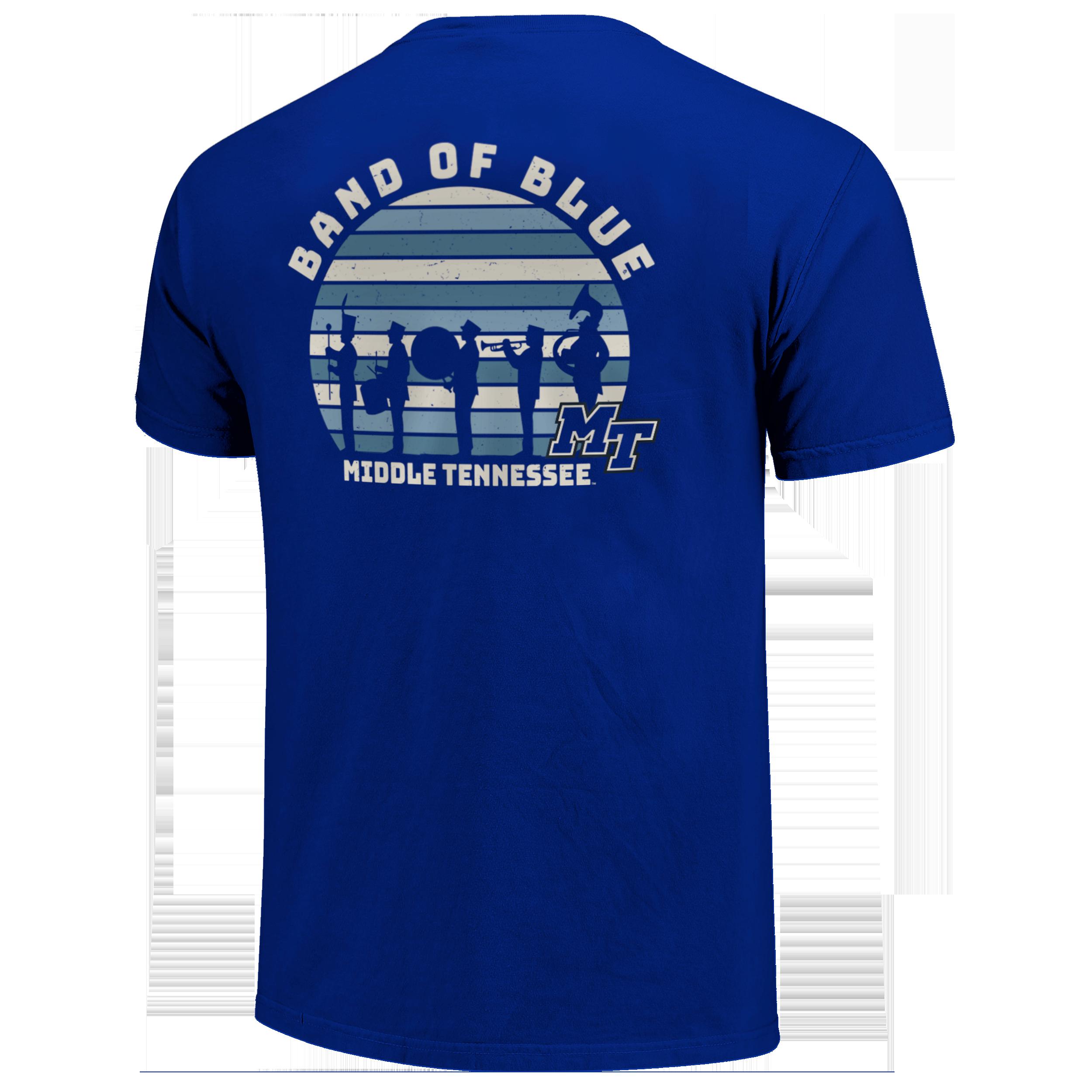 MT Band of Blue Tshirt