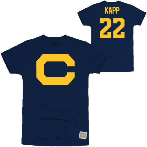 MD25-Cal Bears Kapp #22 Throwback Tee