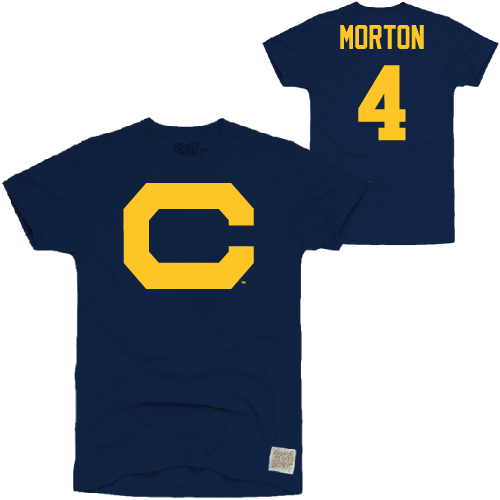 MD25-Cal Bears Morton #4 Throwback Tee