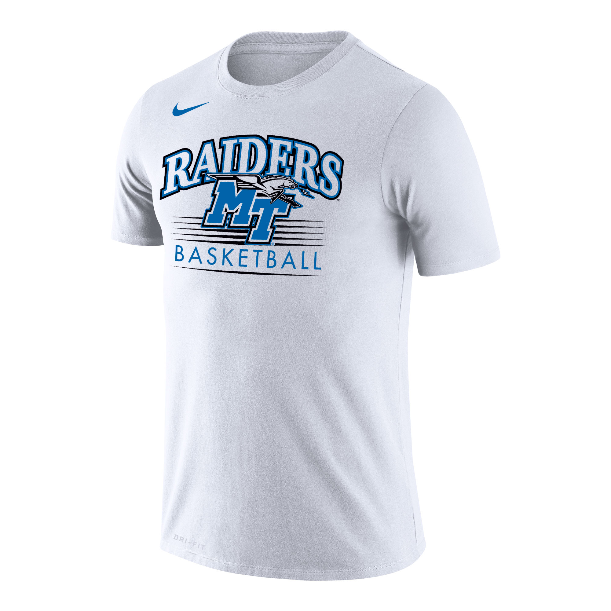 Raiders MT Logo w/ Lightning Basketball Nike® Dri-Fit Cotton Shirt