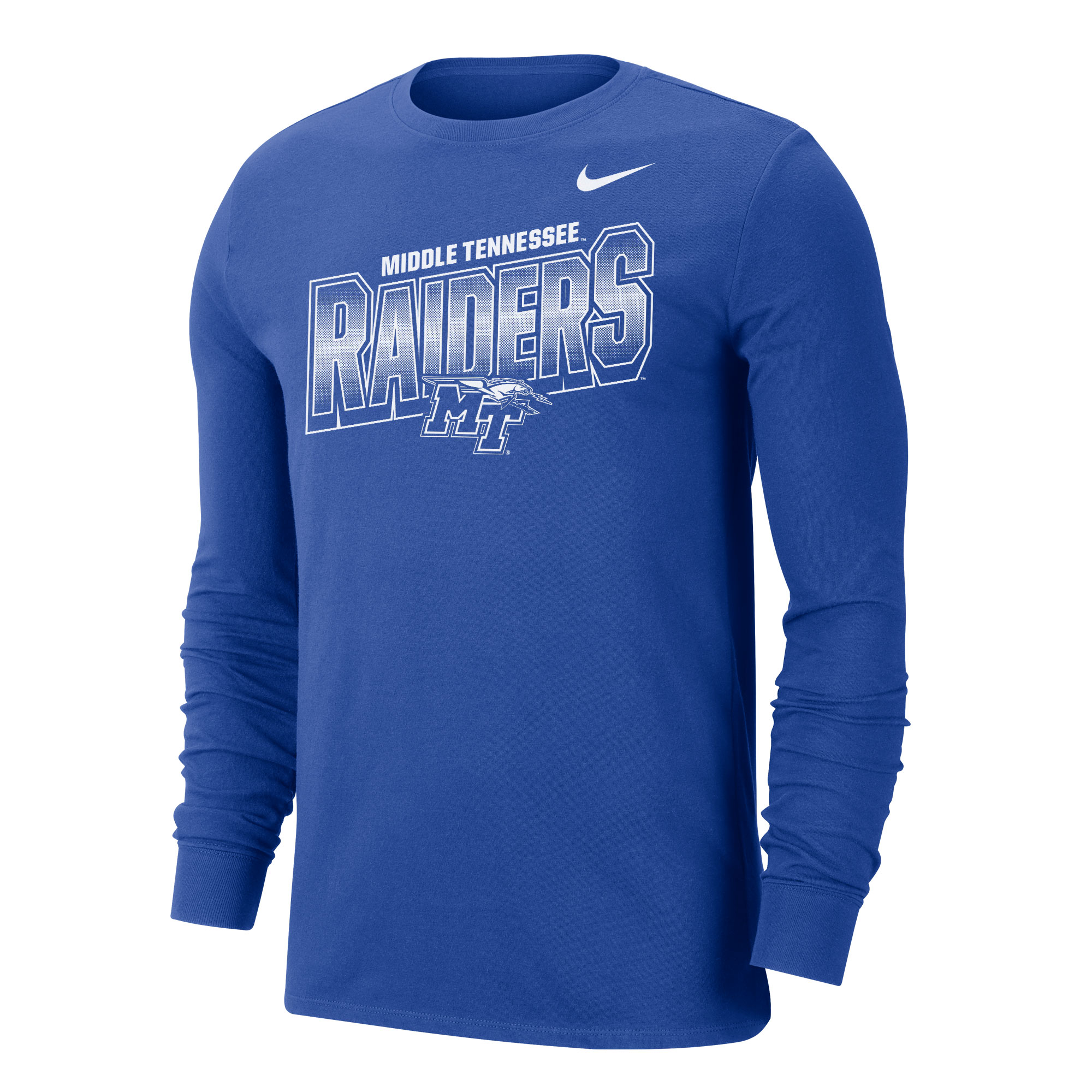Middle Tennessee Raiders Nike® Dri-Fit Cotton Long Sleeve Shirt