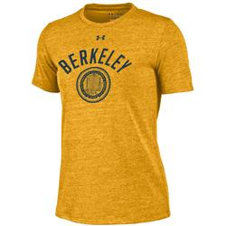 Cal Bears Under Armour Women's Triblend SS Crew