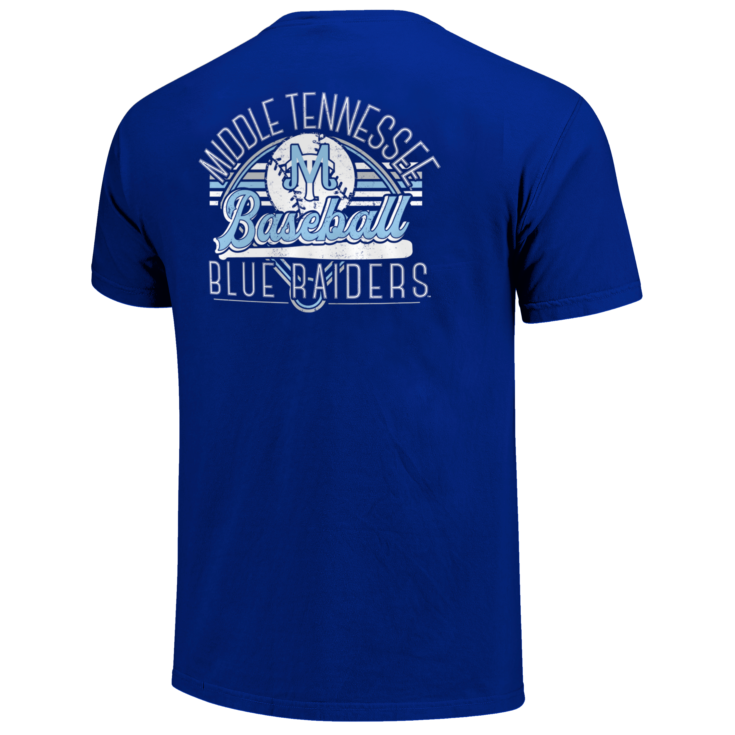 Middle Tennessee Baseball Field Stripes Tshirt