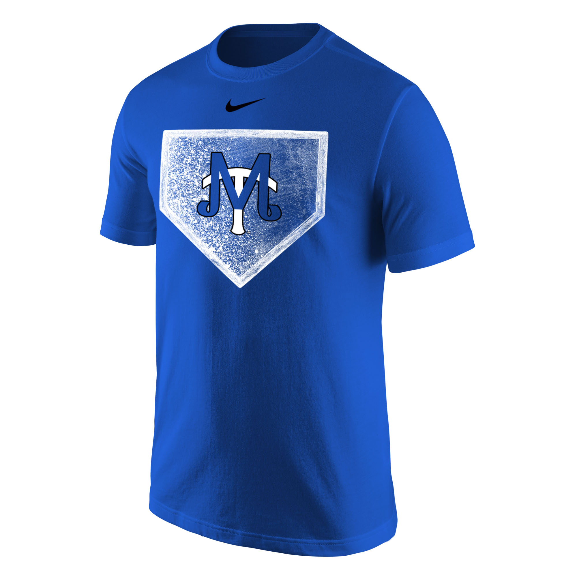 MT Baseball Logo Home Plate Nike® Core Cotton Tshirt