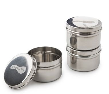UKonserve Mini Containers - 3pk