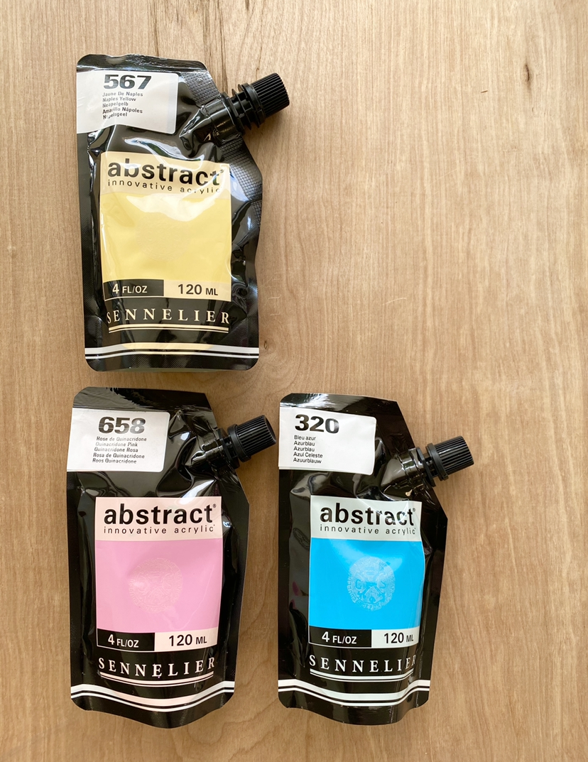 Sennelier Abstract Acrylic Paints, 120mL