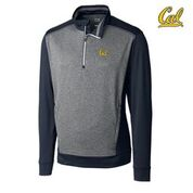 Cal Bears Cutter & Buck Men's Replay Half Zip