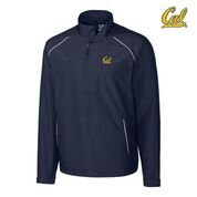 Cal Bears Cutter & Buck Men's Beacon Half-Zip Jacket