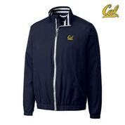 Cal Bears Men's Cutter & Buck Nine Iron FZ Jacket