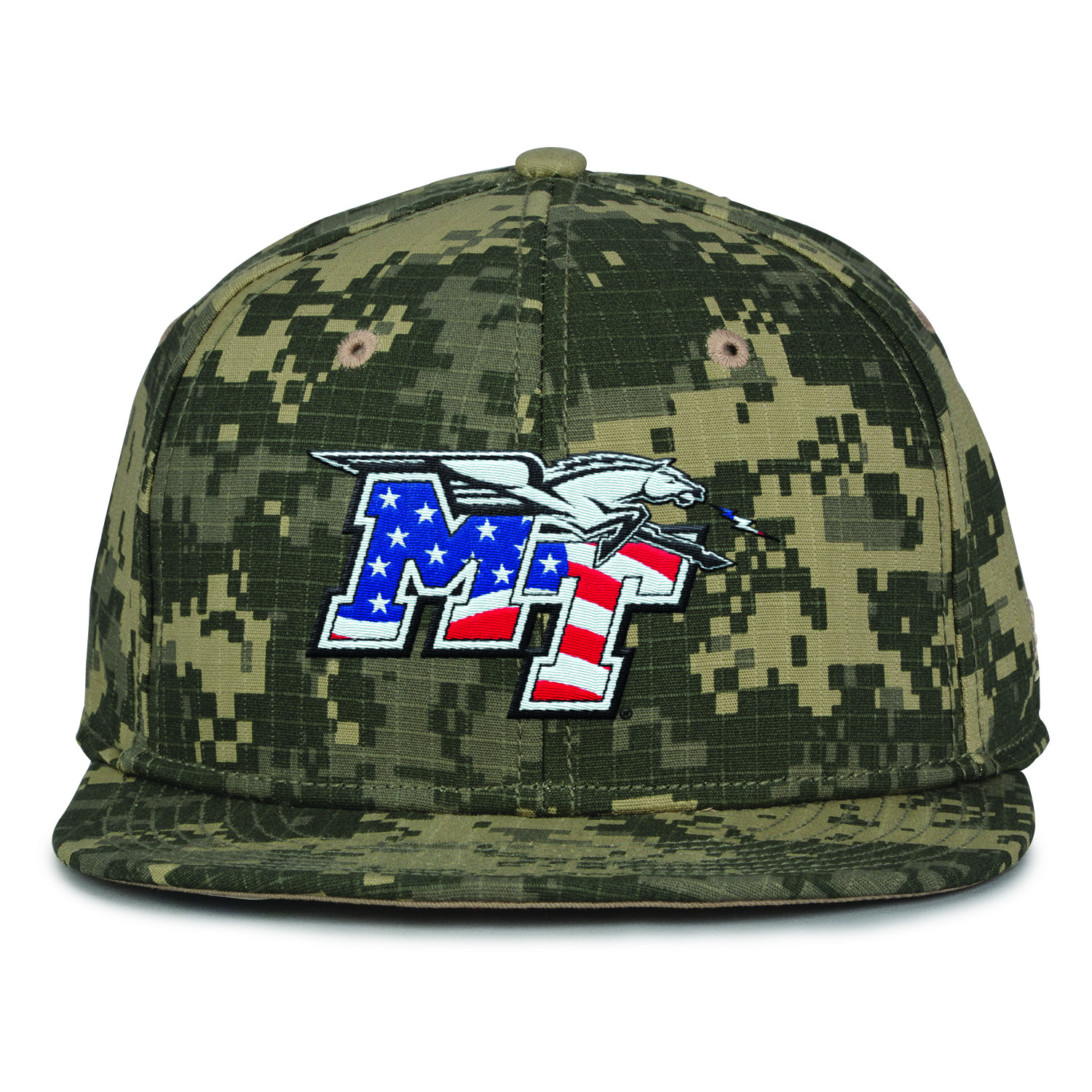 MT Patriotic Logo Digital Camo Hat