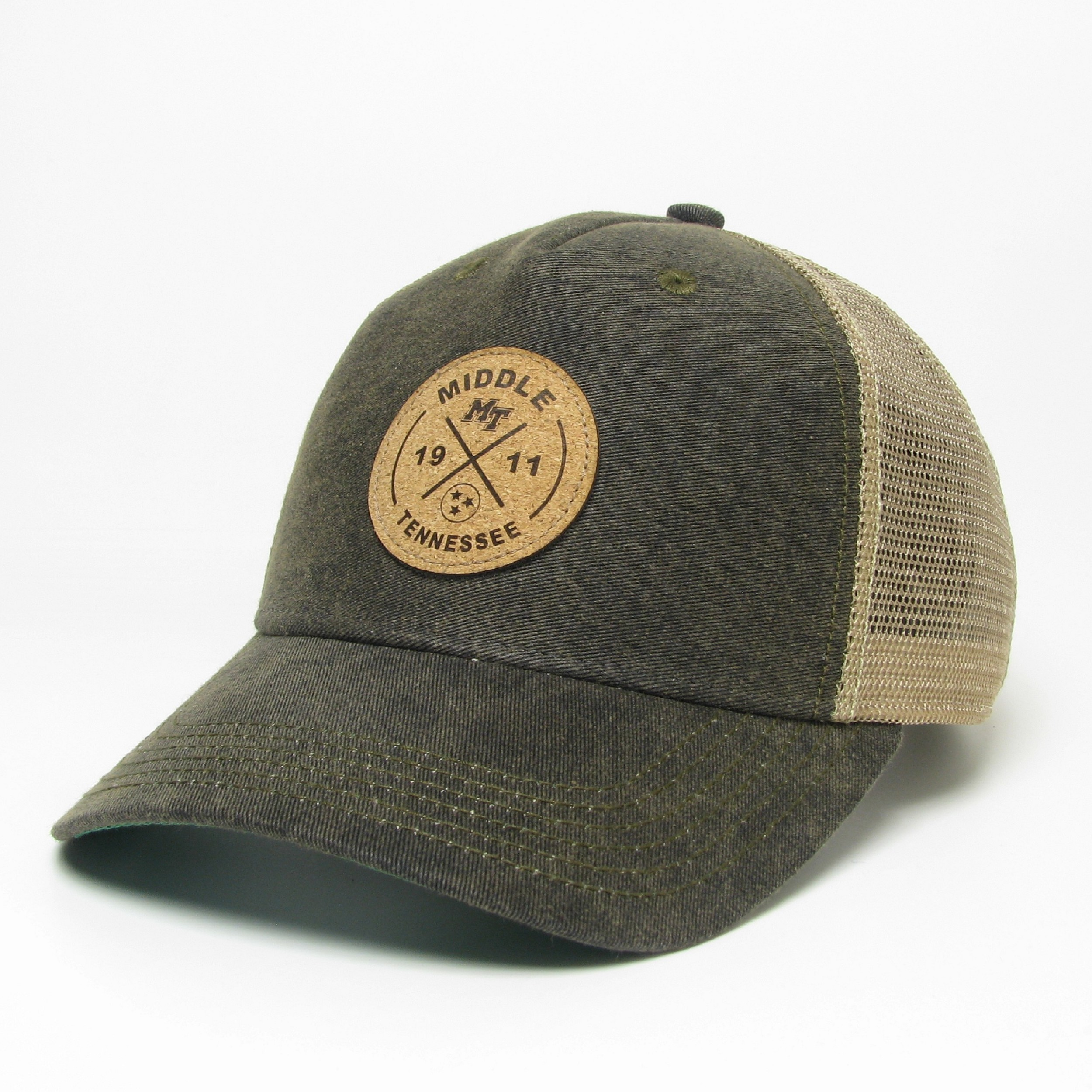 MTSU Circle X Old Favorite Structured Trucker Hat