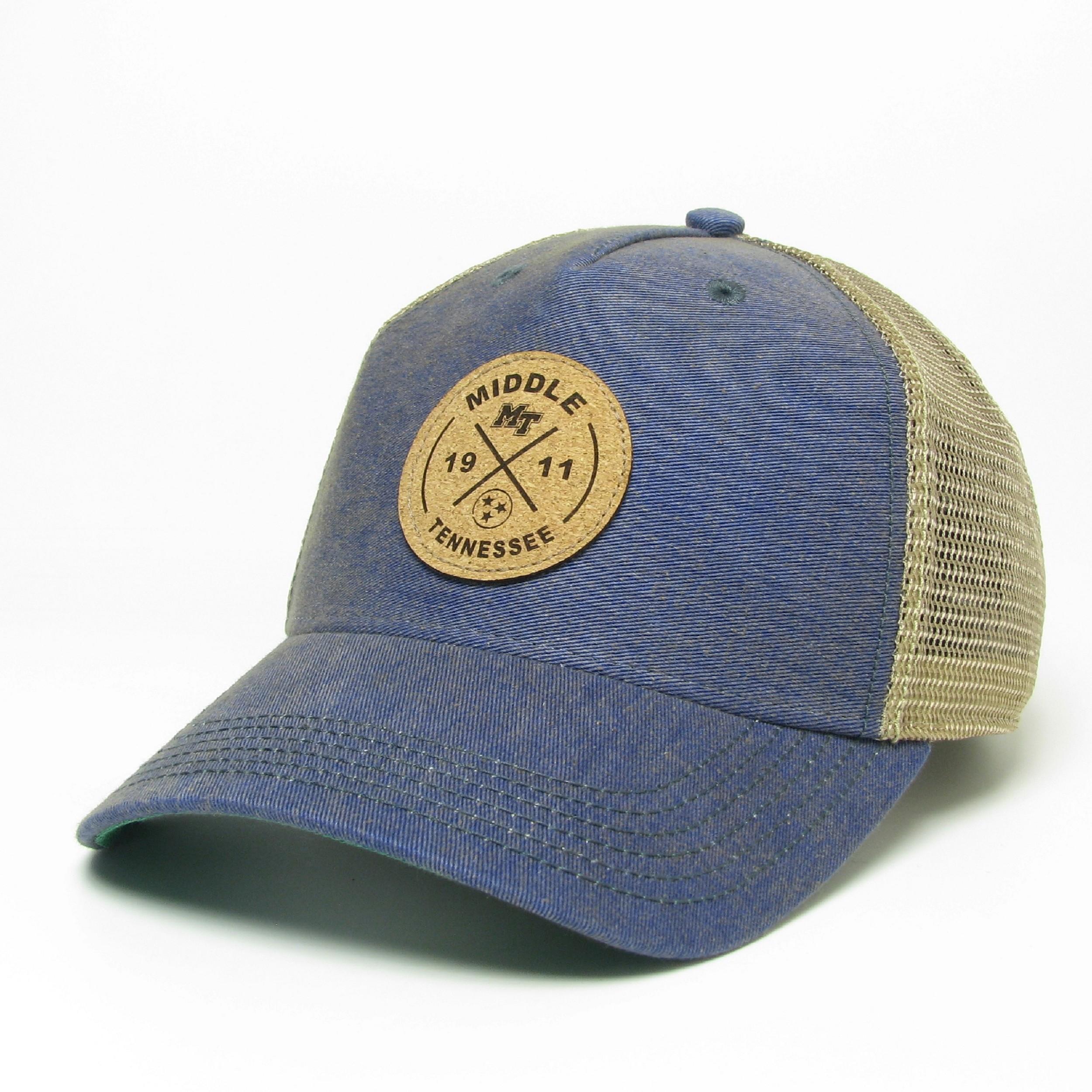 MTSU Circle X Old Favorite Structured Trucker Hat