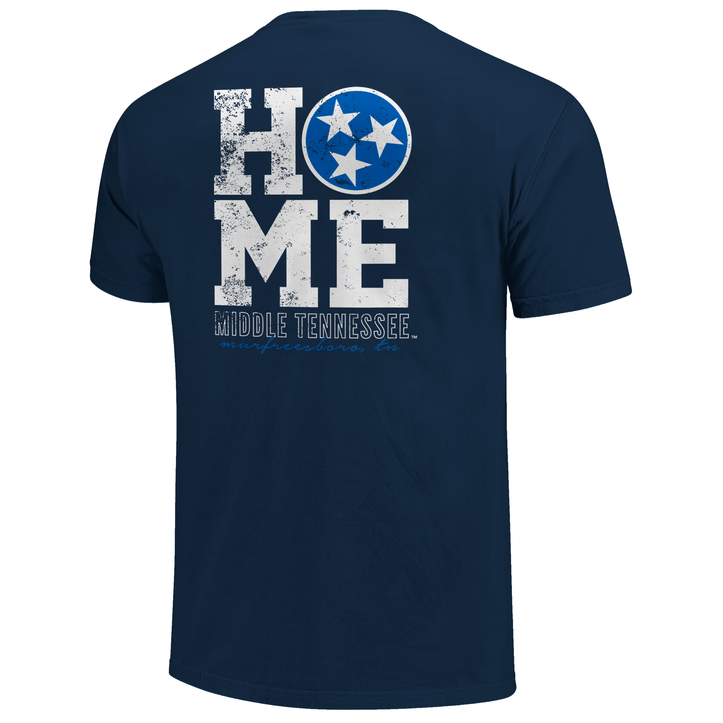 Middle Tennessee Home State Flag Comfort Colors Shirt