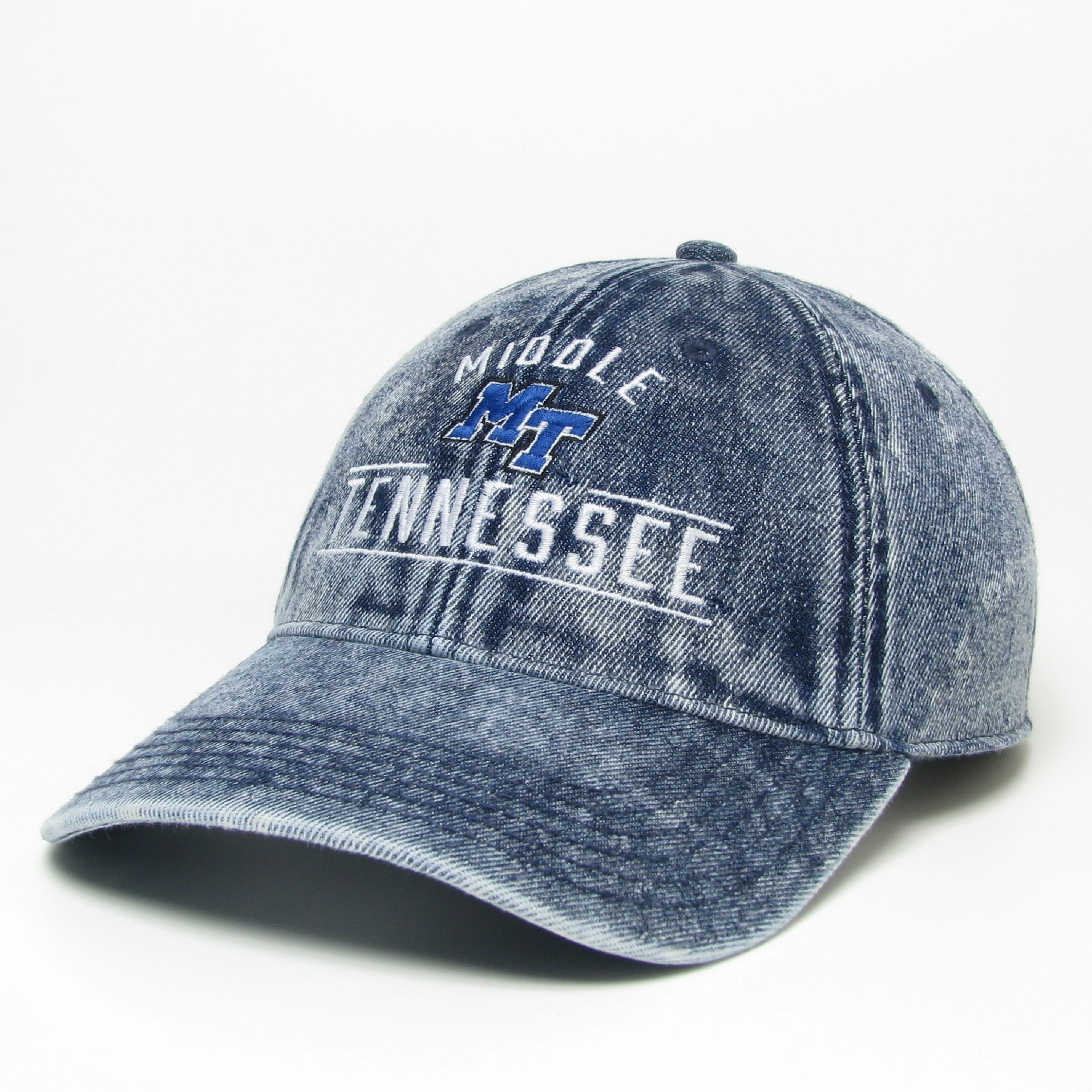 Middle Tennessee Stone Washed Denim Hat
