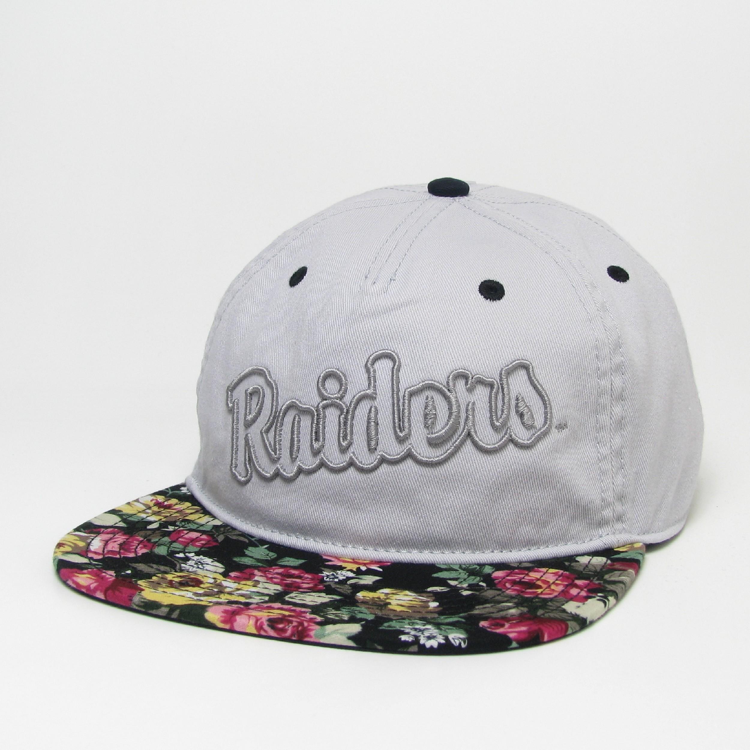 Raiders Axel 5-Panel Flat Brim Hat