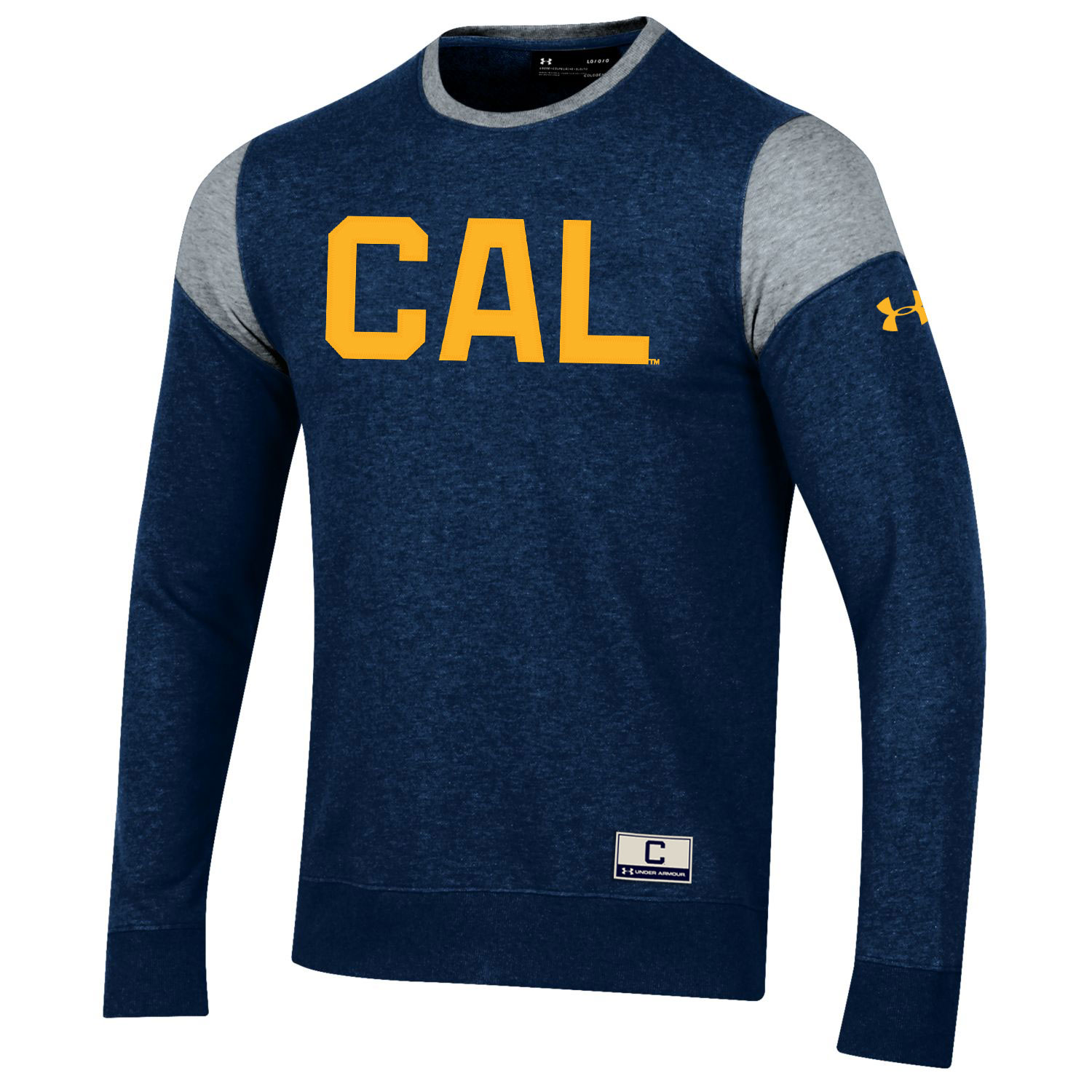 Cal Bears F18 Under Armour Men's Iconic Fleece Crew