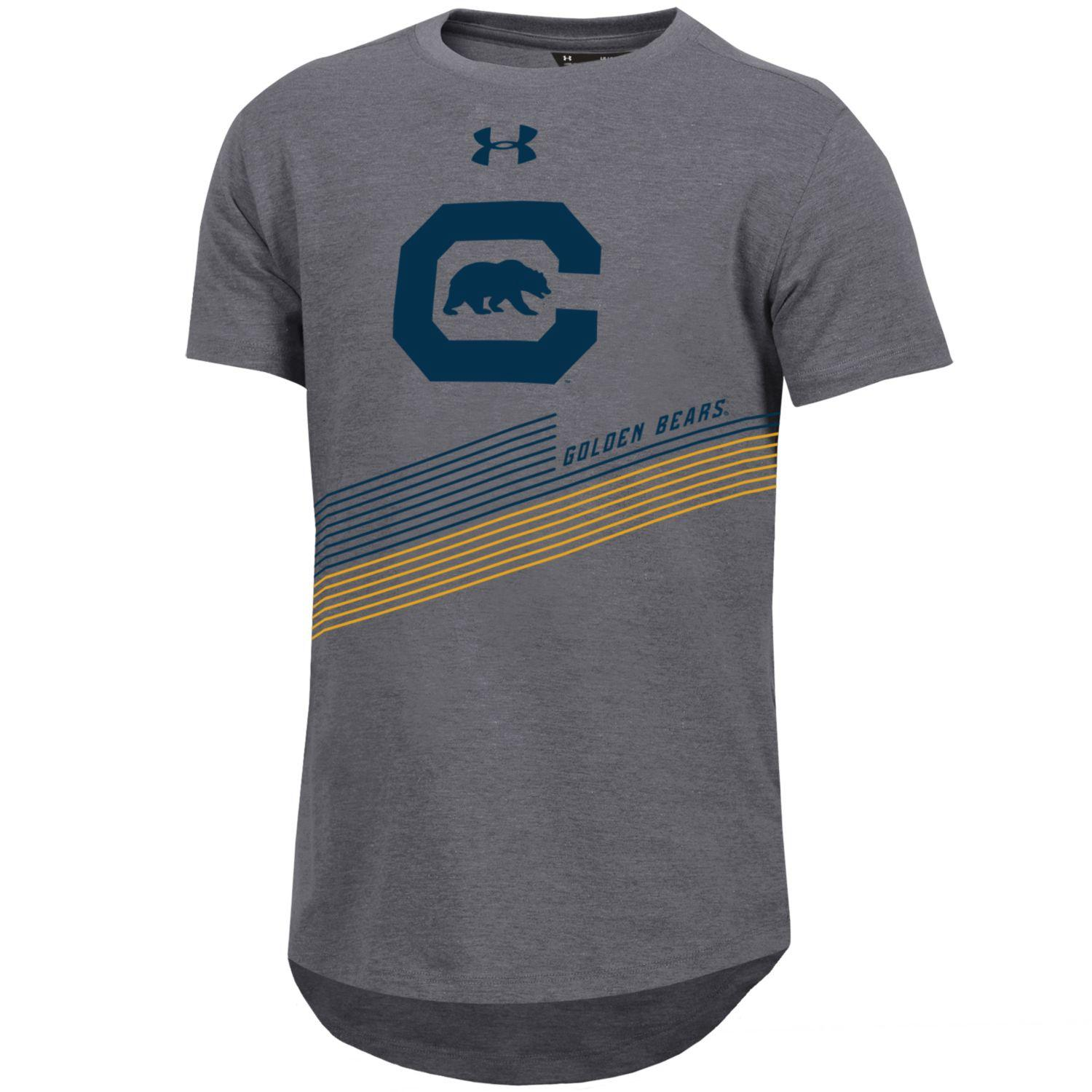 MD25-Cal Bears F18 Under Armour Boys SMU Offshore Freestyle Tee