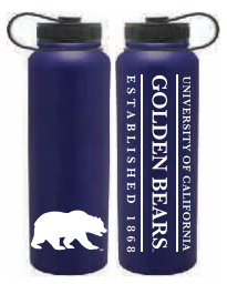 Cal Bears 40oz Powder Coated Peak Bottle