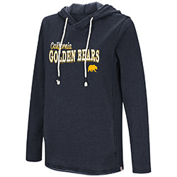 MD25-Cal Bears Women's Journey Is Everything Hoodie by Colosseum F18