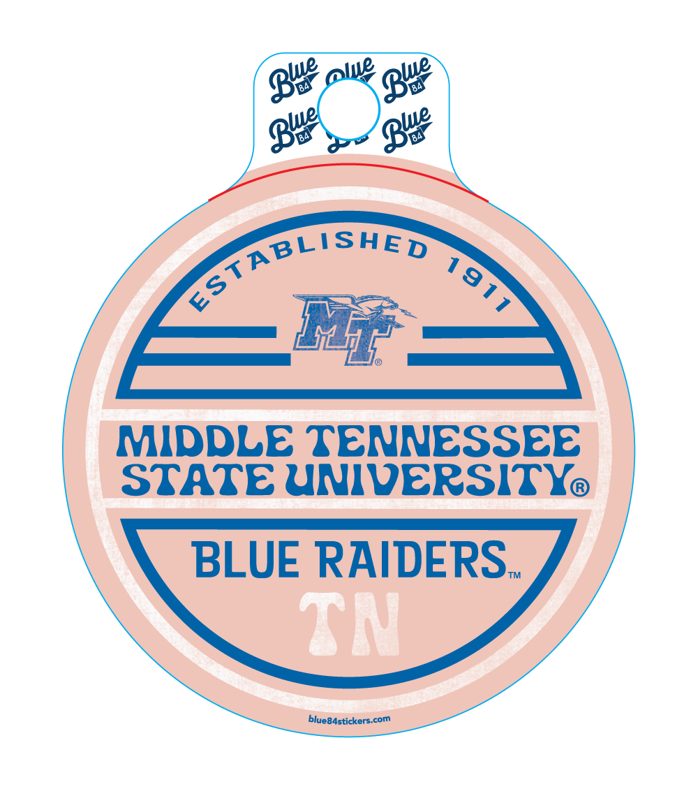Middle Tennessee Day Breeze Sticker