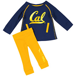 MD25-Cal Bears Infant Girls Nice Kick! Tunic & Legging Set by Colosseum F18