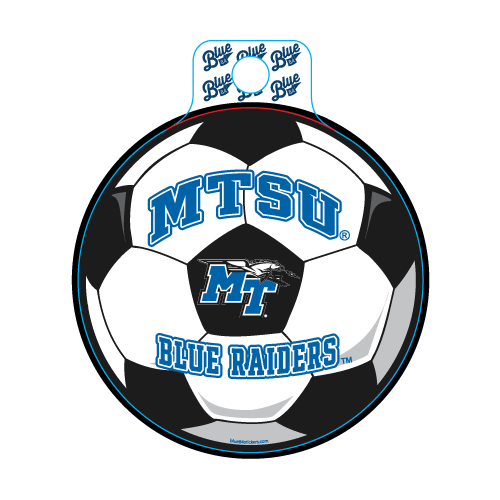 MTSU Blue Raiders Educate Soccer Decal