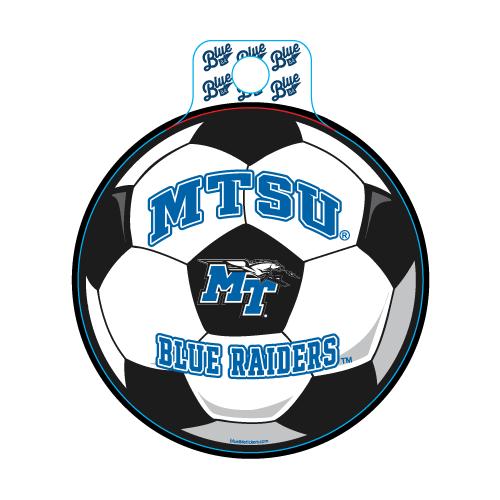 MTSU Blue Raiders Educate Soccer Decal