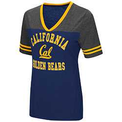 Cal Bears Women's The Whole Package S/S Tee by Colosseum F18