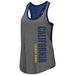 Cal Bears Women's Share It Racerback Tank by Colosseum