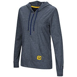 MD25-Cal Bears Women's Sugar 1/2 Zip Hoodie by Colosseum F18