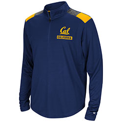 Cal Bears Youth 99 Yards 1/4 Zip by Colosseum F18