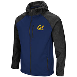Cal Bears Men's Hut! Full Zip Jacket by Colosseum F18