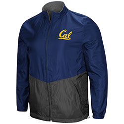 MD25-Cal Bears Men's Halfback Option Reversible F-Z JKT by Colosseum F18