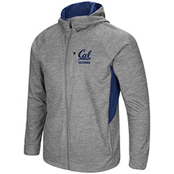 Cal Bears Men's All Them Teeth Full Zip Jacket by Colosseum F18